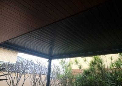 Aluminium louvre roof Joondalup