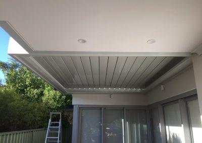 Flat louvre roof Inglewood