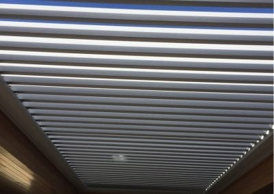 Louvre sunroof silver single