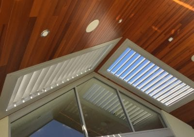 Louvre Shade Perth WA Apex louvre roofs Silver lustre